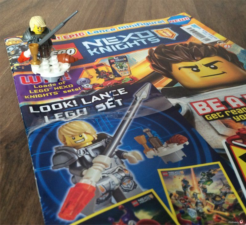 lego nexo knights magazine with images  knight lego