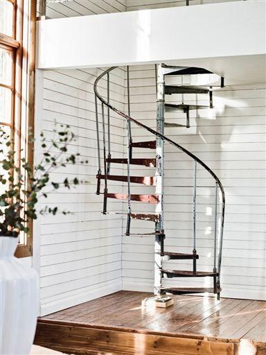 Best Blog It Forward Spiral Staircase Swedish Farmhouse 400 x 300