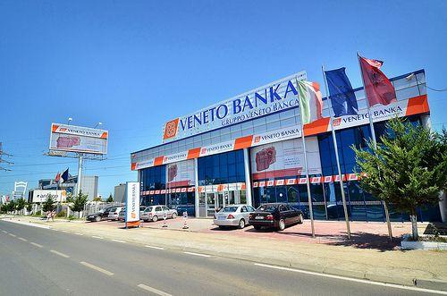 Veneto Banka - Autostrada TR-DR, km.3, TIRANA   Veneto ...