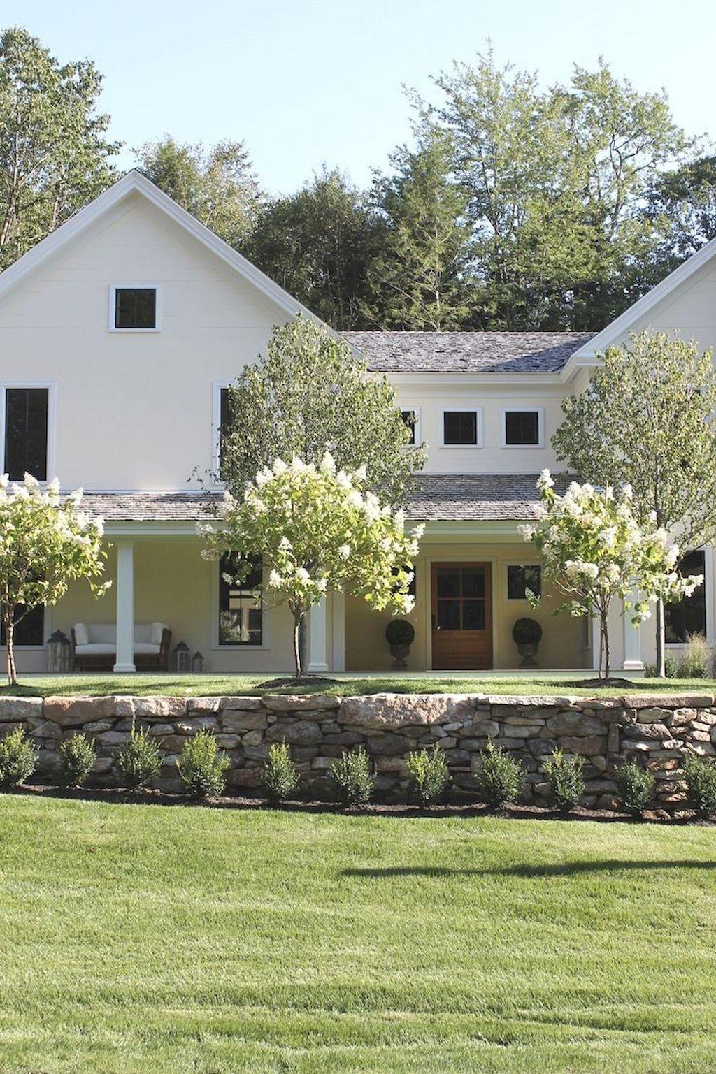 Oneonroom Com Farmhouse Landscaping House Landscape Front Yard Design Farmhouse style backyard ideas