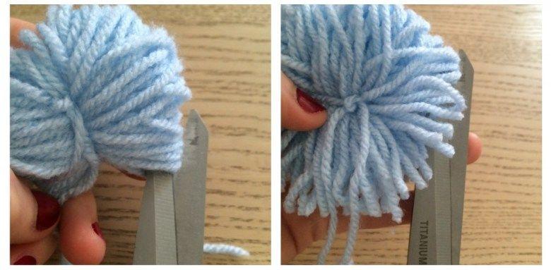DIY – Tuto tapis de pompons en laine