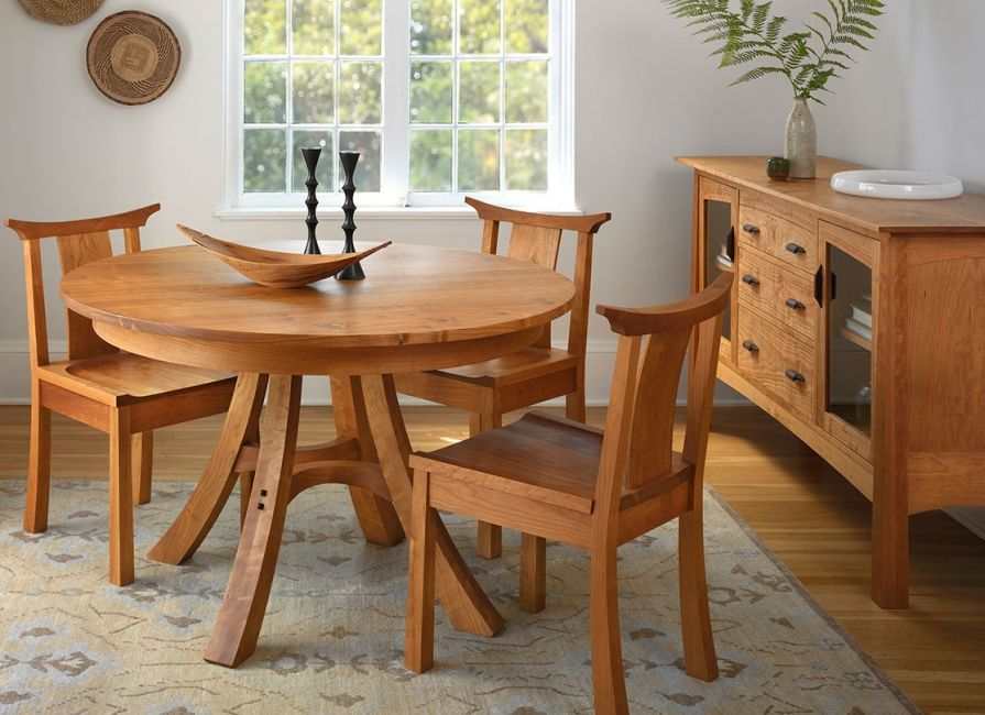 The Kyoto Extension Dining Table Is Handcrafted In Portland Oregon From Solid Wood Inspired By Japanese Design This Available 48 And 54