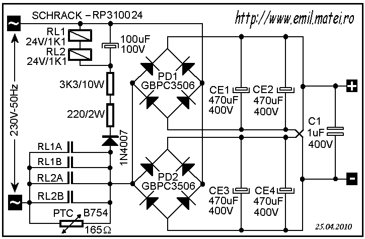 Soft Start Circuit Schematic 3