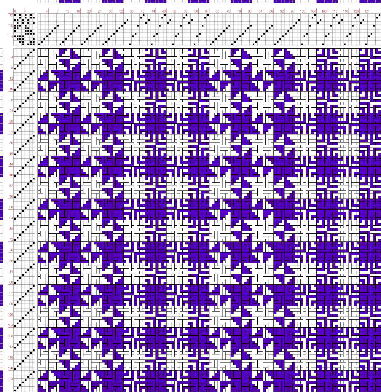 draft image: Gestreifte Muster Pl. VII Nr. 6, Die färbige Gewebemusterung, Franz Donat, 12S, 8T