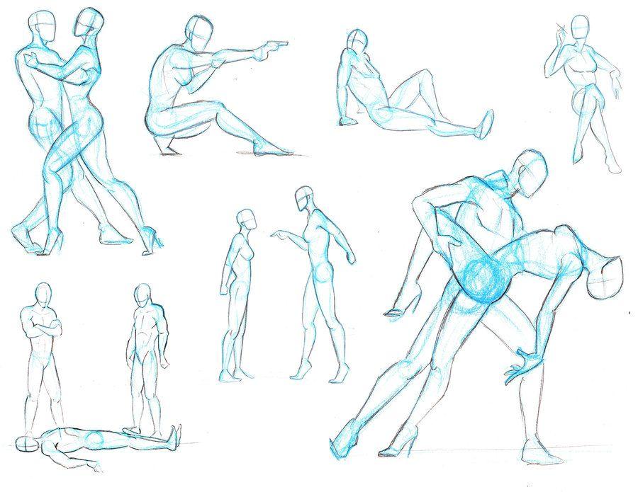 Reference Pose Bundle 3 By Xxincendiaxx On Deviantart Dancers