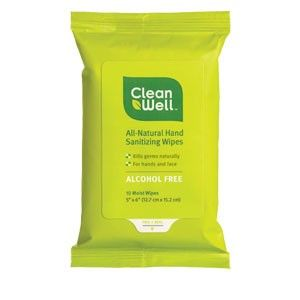 Cleanwell Hand Sanitizing Wipes Great To Stash In A Bookbag