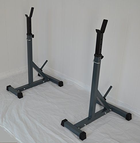 Separate Squat Racks Hd Adjustable Power Weight Bench Rack 500 Lb