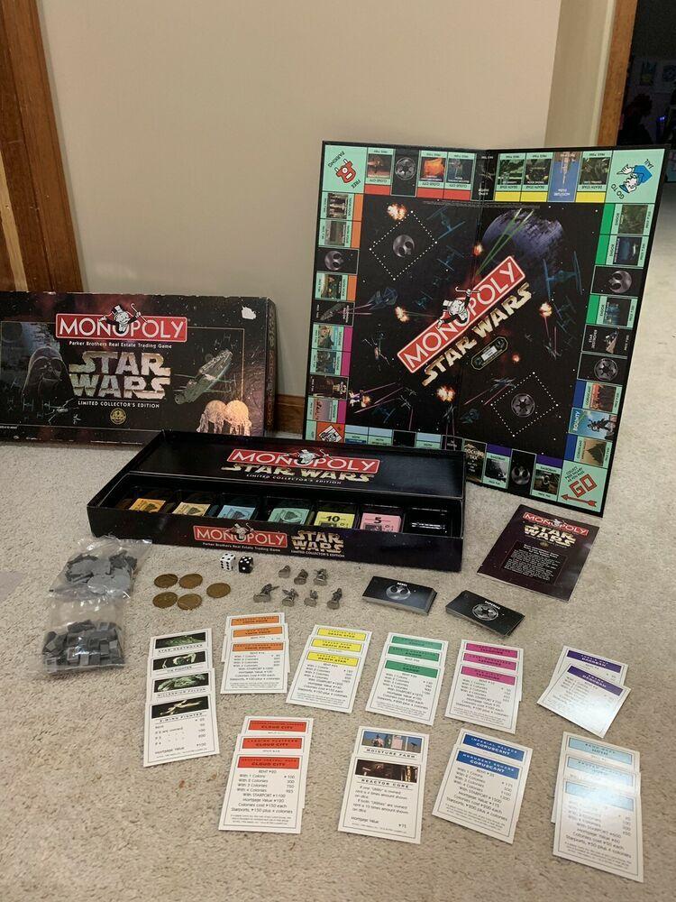 Details about Vintage Monopoly Limited Collectors Edition