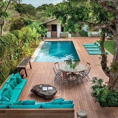165 mentions J\u0027aime, 3 commentaires - Le Bois Facile avec Mauler - terrasse bois avec bassin