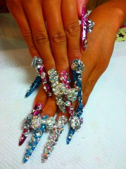 Japanese nail art for long nails nail art pinterest japanese japanese nail art for long nails prinsesfo Images