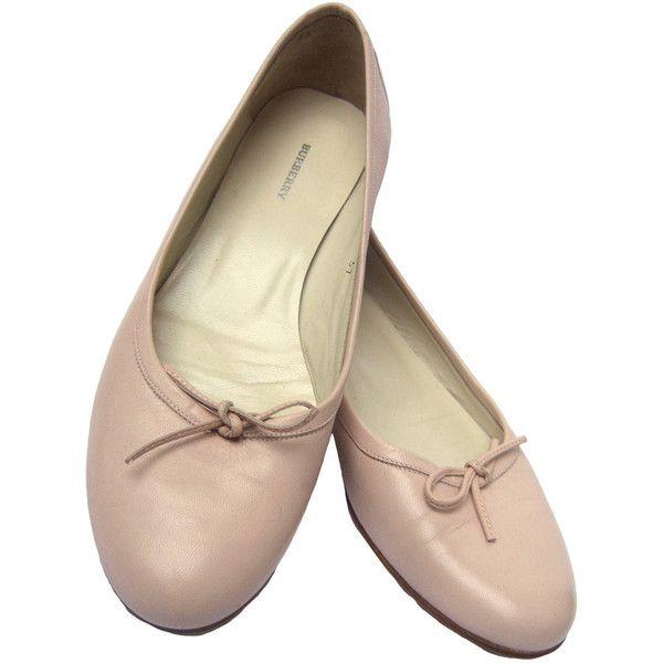 burberry ballerina flats sale