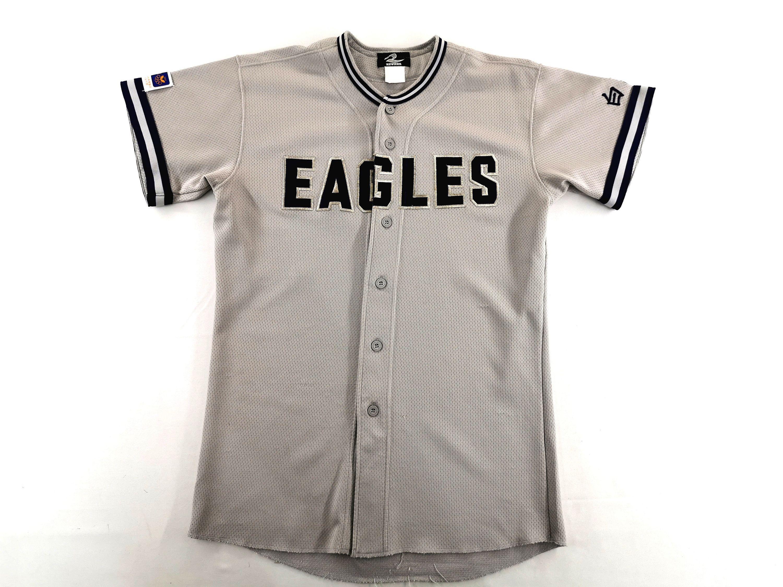 Eagles Jersey Vintage Eagles Shirt Vintage Eagles By Reward Made In Japan Baseball Jersey Shirt Size S M In 2020 Eagle Shirts Baseball Jersey Shirt Jersey Shirt