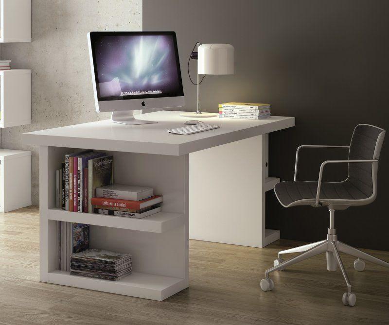 Bureau Design Temahome Multi Storage 160 X 90 Blanc | Bureaux