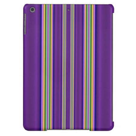 colorful line pattern case for iPad air