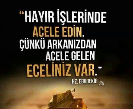 Hz Ebubekir Citation