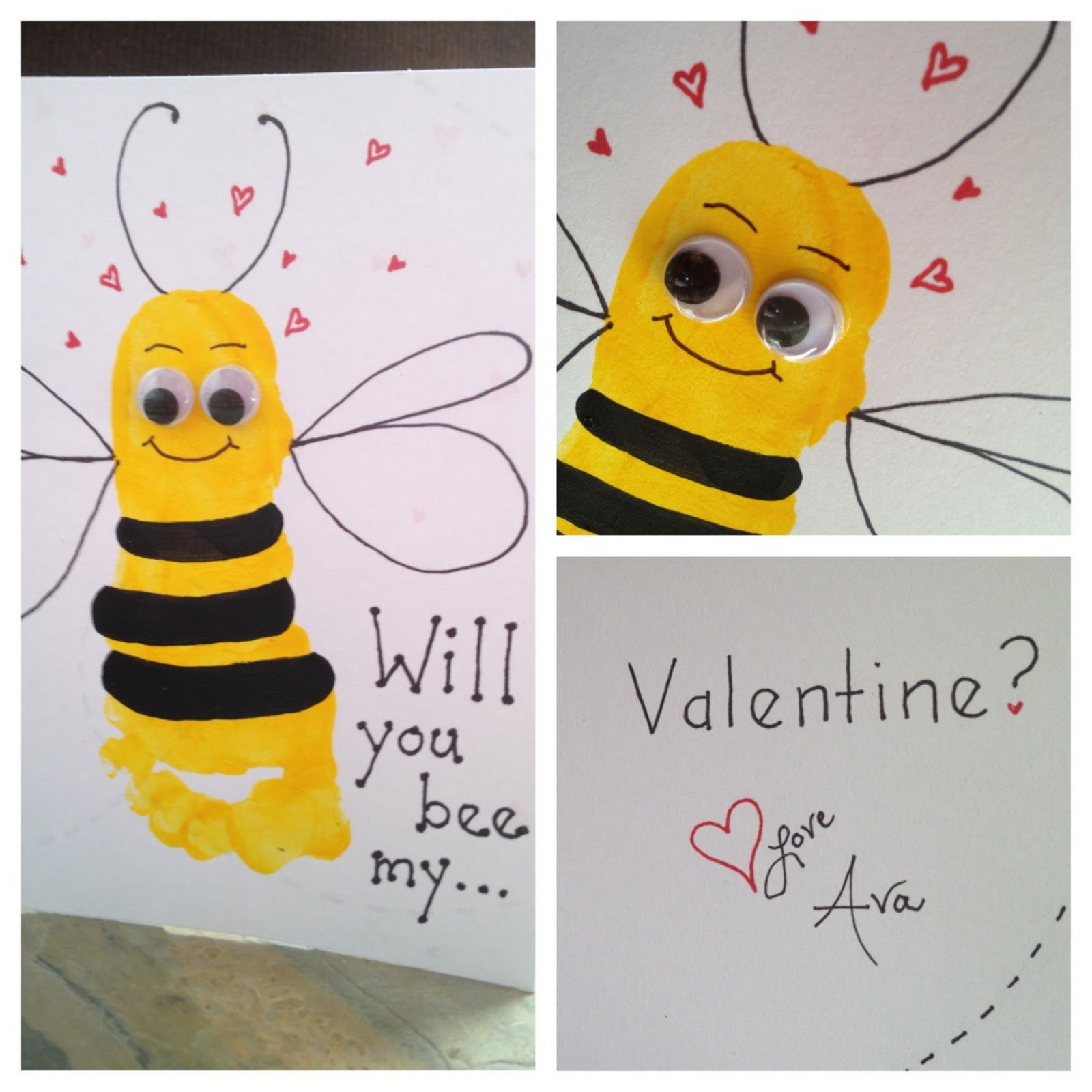 Anne Marshall Will You Bee My Valentine Ava 6 Months A