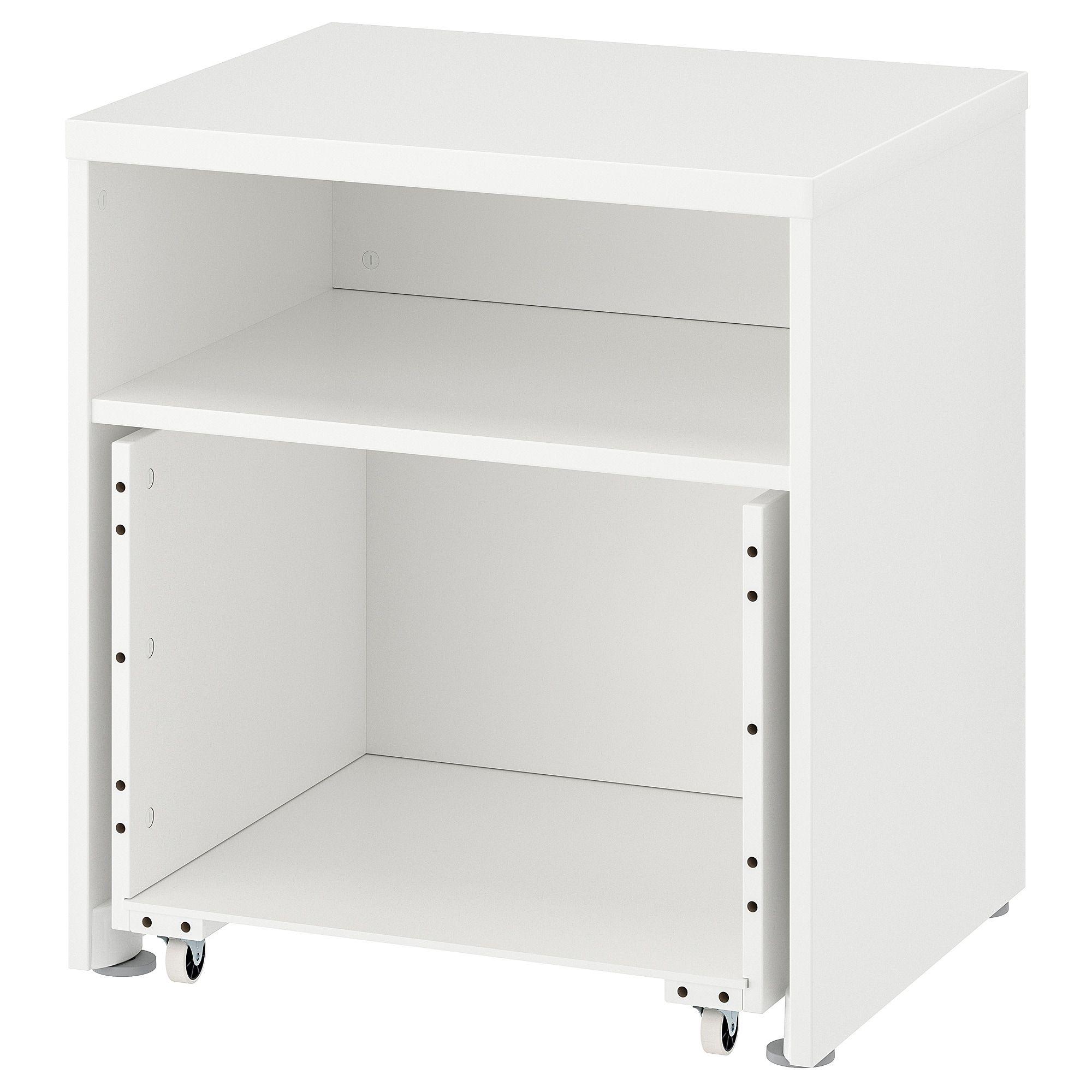 Stuva Structure Avec Coffre Sur Roulettes 23 5 8x19 5 8x25 1 4 60x50x64 Cm Meuble Imprimante Ikea Rangement Imprimante