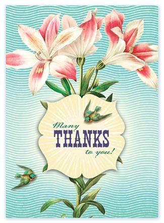 Cartolina - Cartolina card - Many Thanks to you! CC147