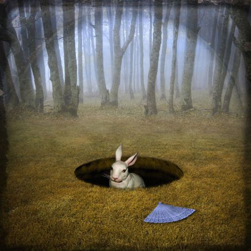 Maggie Taylor | Alice's Adventures in Wonderland | It's getting late