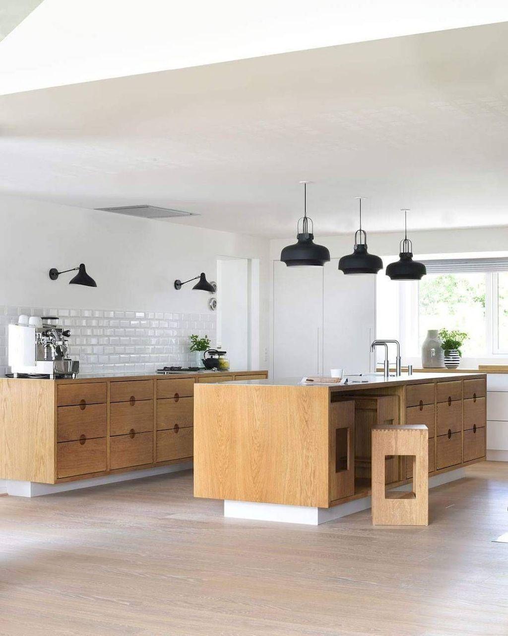 Kitchen Set Scandinavian: 30+ SCANDINAVIAN WITH AWESOME KITCHEN ISLAND IDEAS