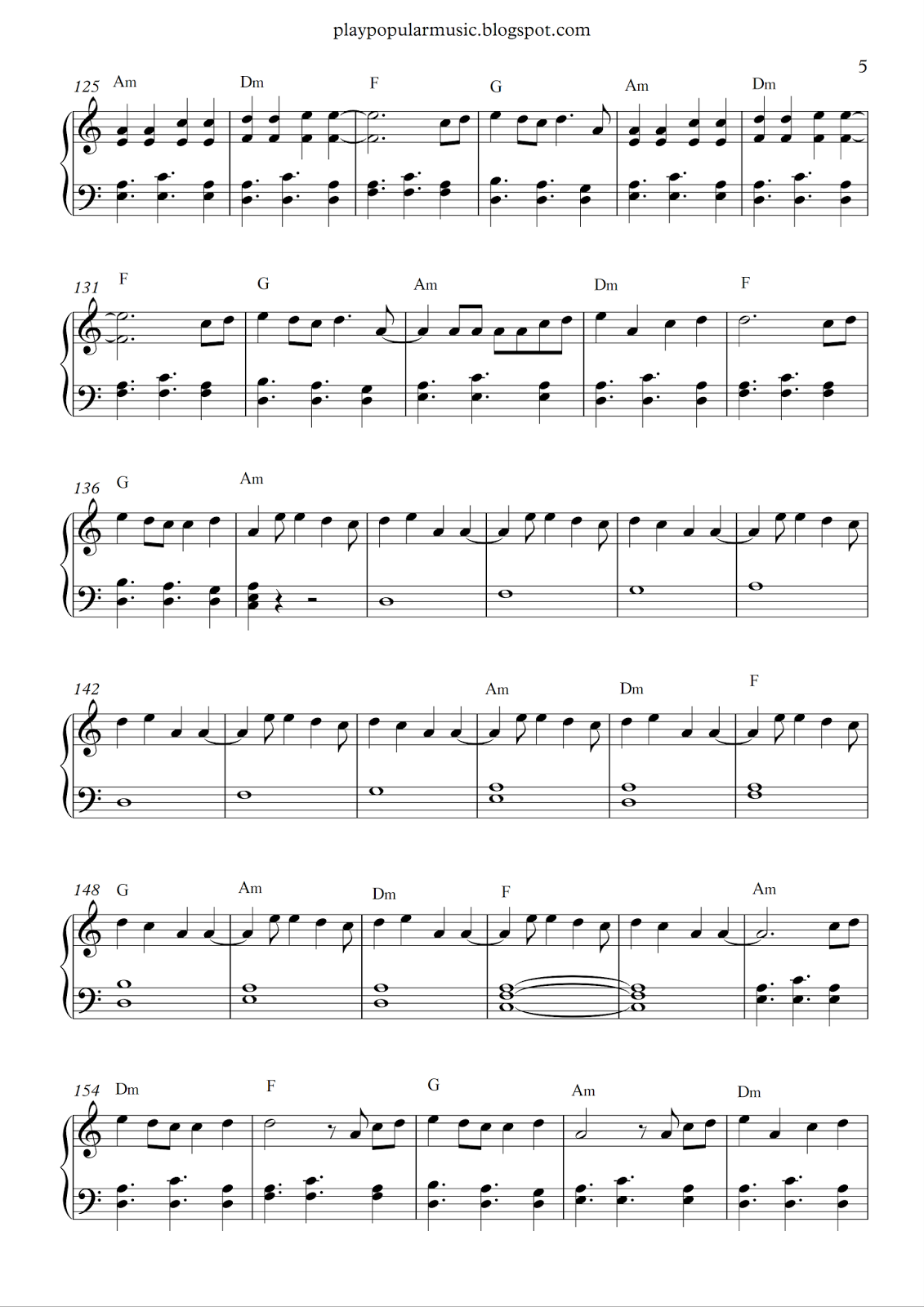 Free Piano Sheet Music Shape Of You Ed Sheeran Pdf Your Love Was Handmade For Somebody Like Me Shape Of You Ed Piano Sheet Music Free Sheet Music Notes