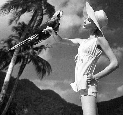 Jessica Ford, photo by Louise Dahl-Wolfe, Harper's Bazaar, 1957