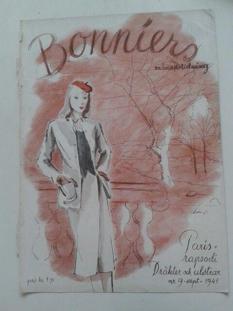 Bonniers Månadstidning Nr 9 sept.1945