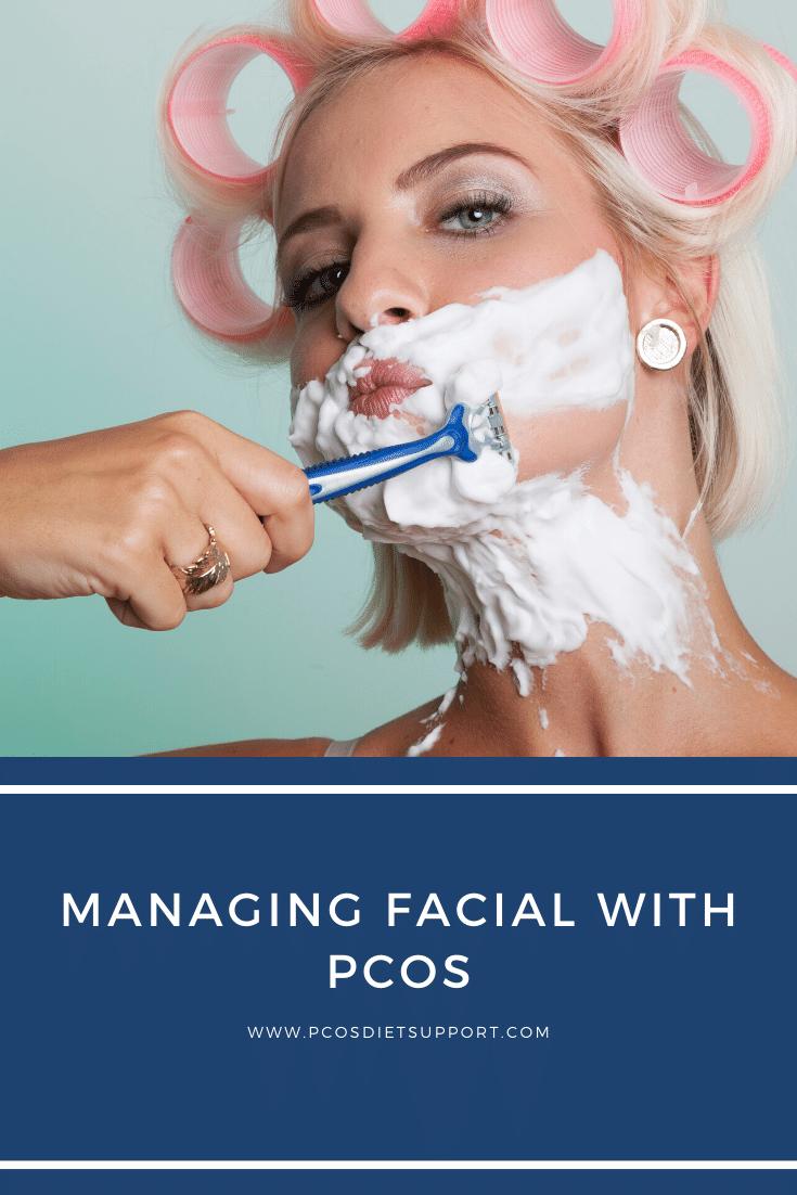 Managing Facial Hair with PCOS in 2020 | Pcos, Pcos facial