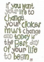 Start Losing Weight Today or apply to anything that needs a change in our life.