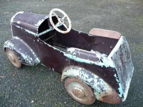 "1950s Vintage Tri-ang ""FORTY"" Pedal Car - http://www.ebay.co.uk/itm/370941435873?clk_rvr_id=547809724989"