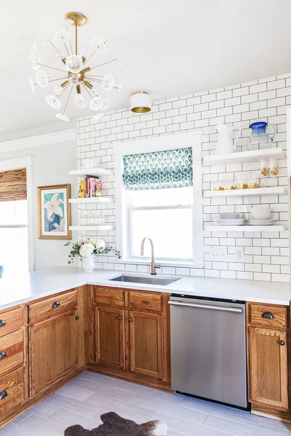 50+ Most Viewed Colors For Kitchen With Oak Cabinets Images