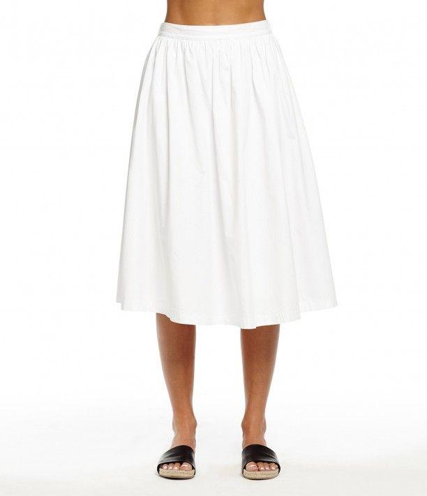 A-Line Midi Skirt - New Arrivals | Michael Stars