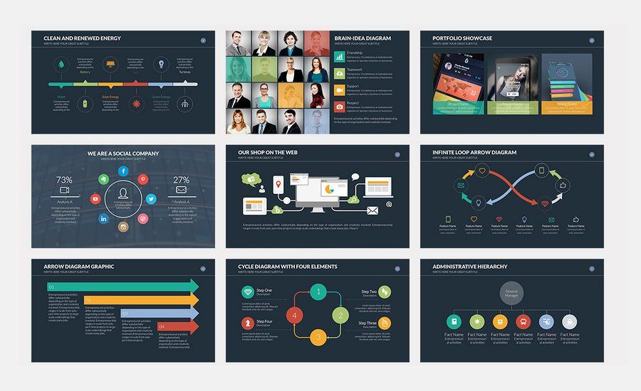 great presentation templates