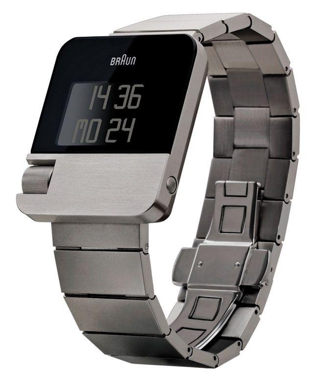 Details About New Braun Prestige Digital Lcd Led Watch German