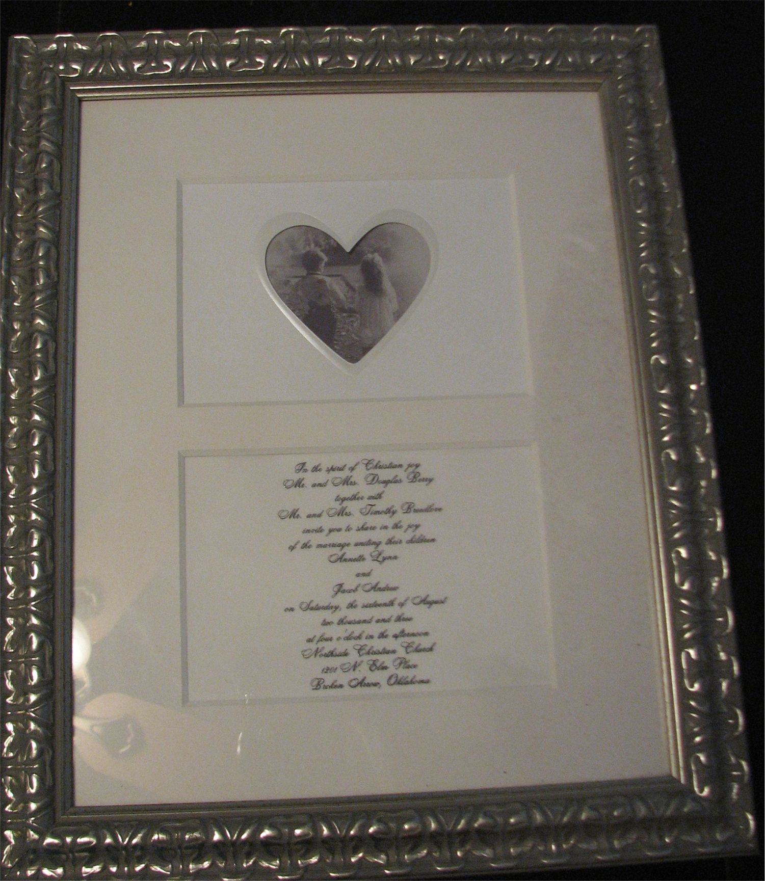 Wedding gifts made from money