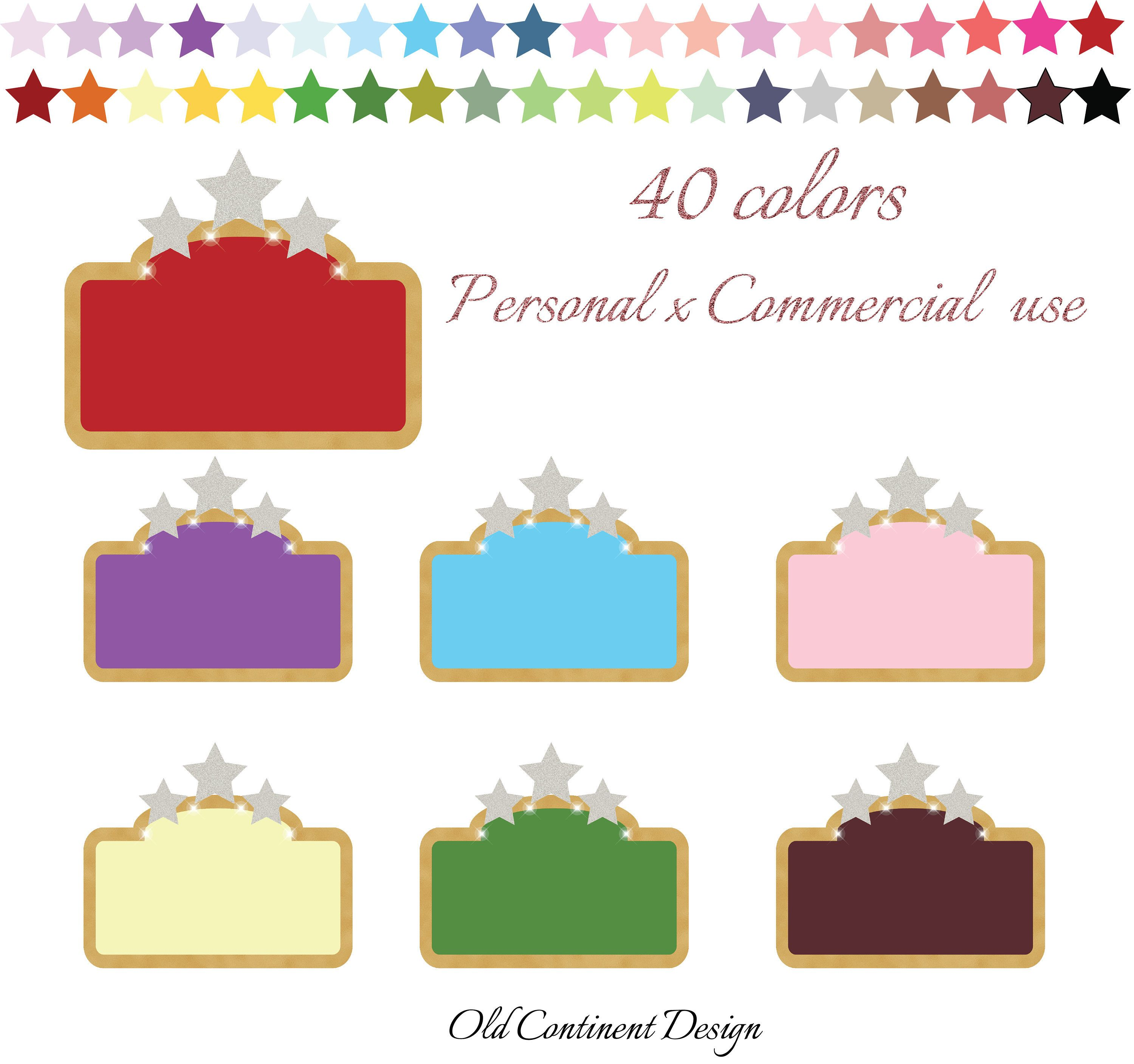 PRINTABLE Cinema Marquee Clipart Planner Stickers Clip Art Sign Movie