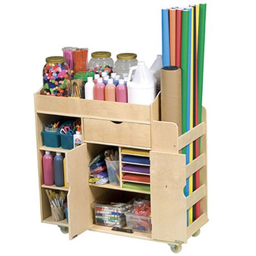 The ultimate art therapy cart for the super art therapist