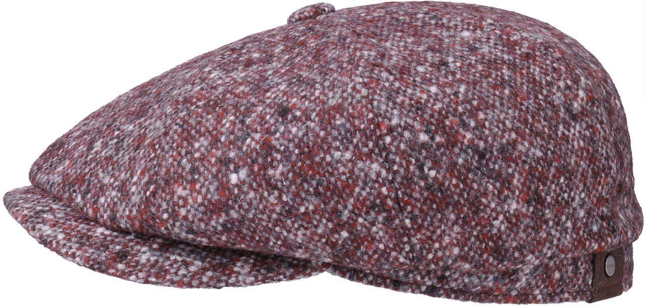 Stetson Hatteras Virgin Wool Flat Cap - Bordeaux  696baa02d1e6
