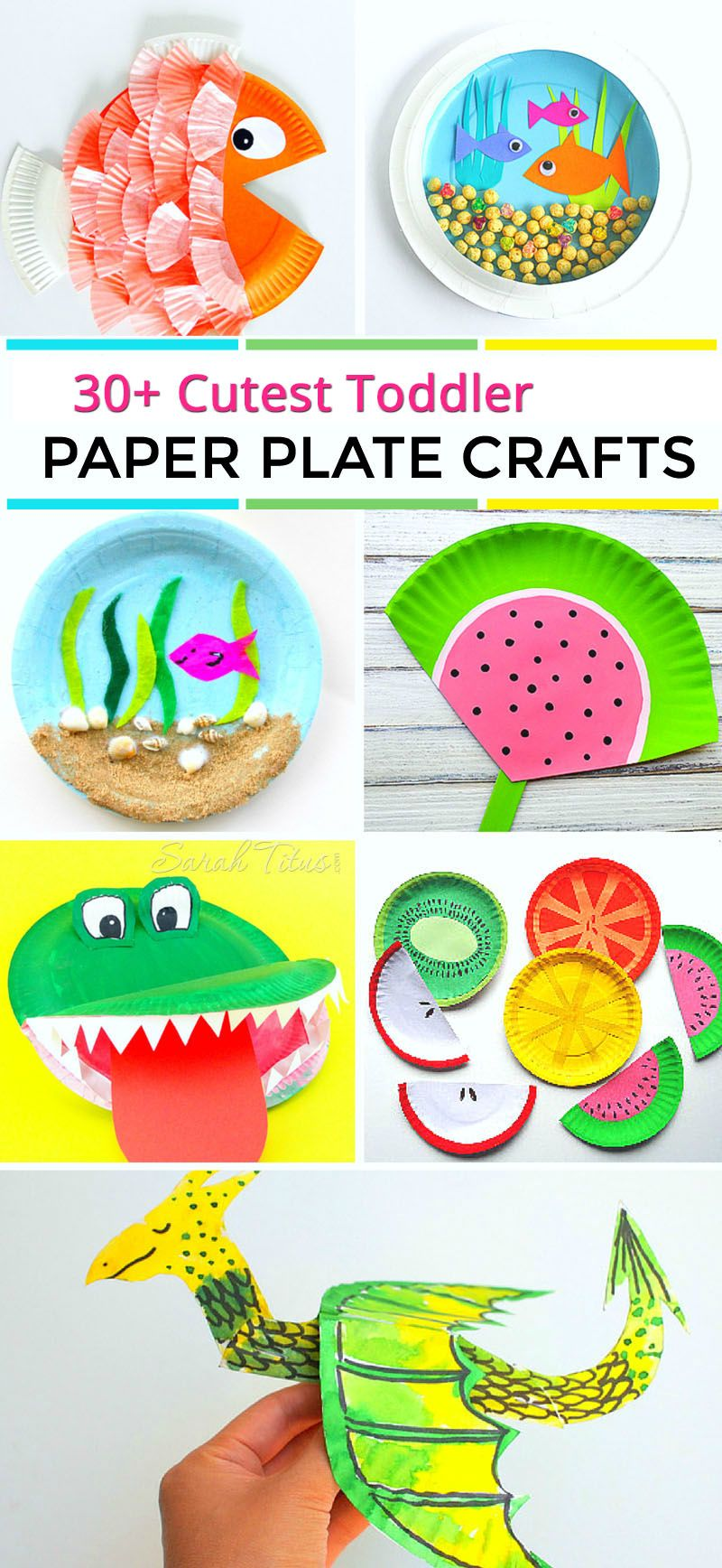 30 Cutest Toddler Paper Plate Crafts Ogt Blogger Friends