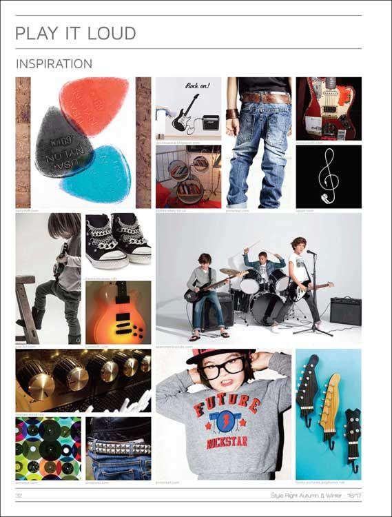 Style Right Kidswear Trendbook A/W 2016/2017 incl. DVD ...