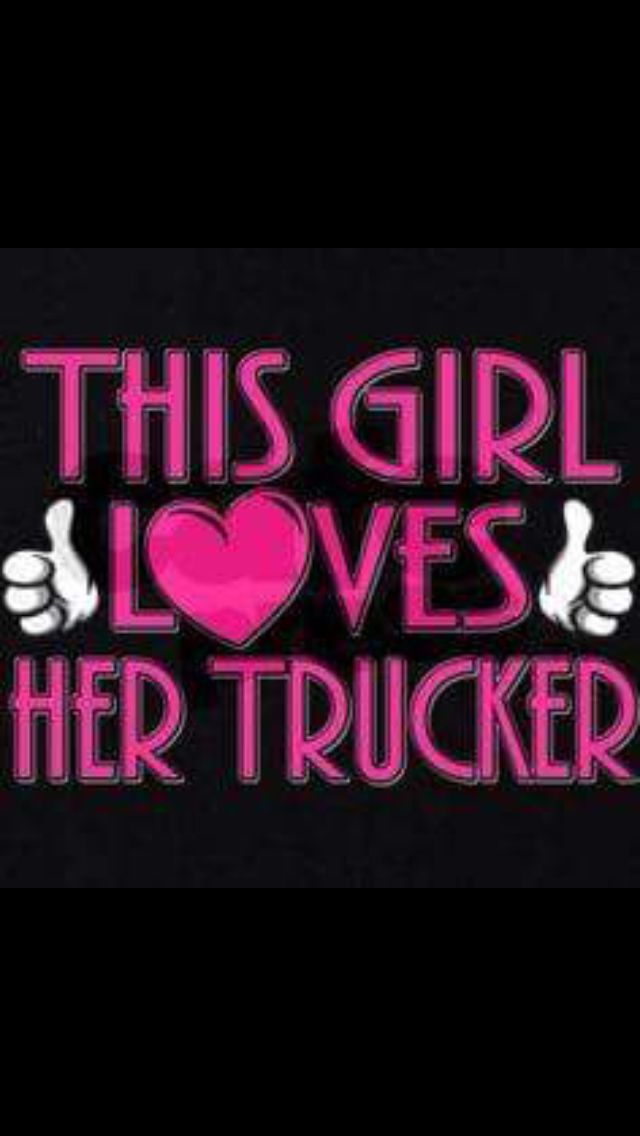 This Girl Loves Her Trucker Sweatshirt Dark The Wife Of A