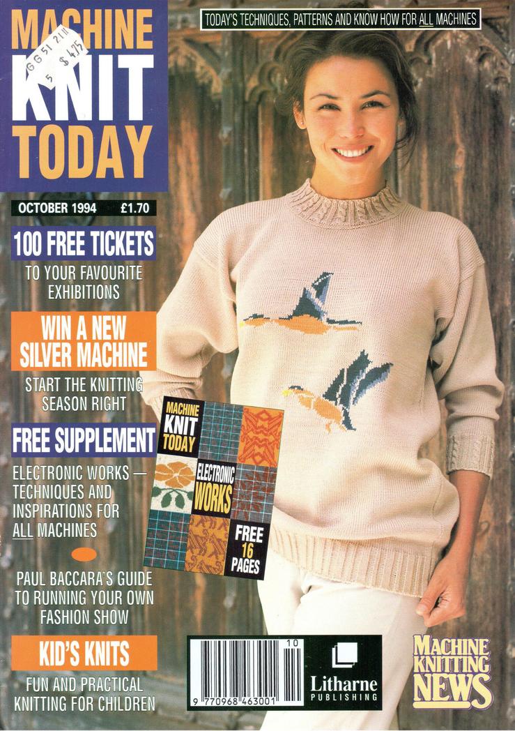 Machine Knit Today Magazine 199410 Free Pdf Download 300dpi