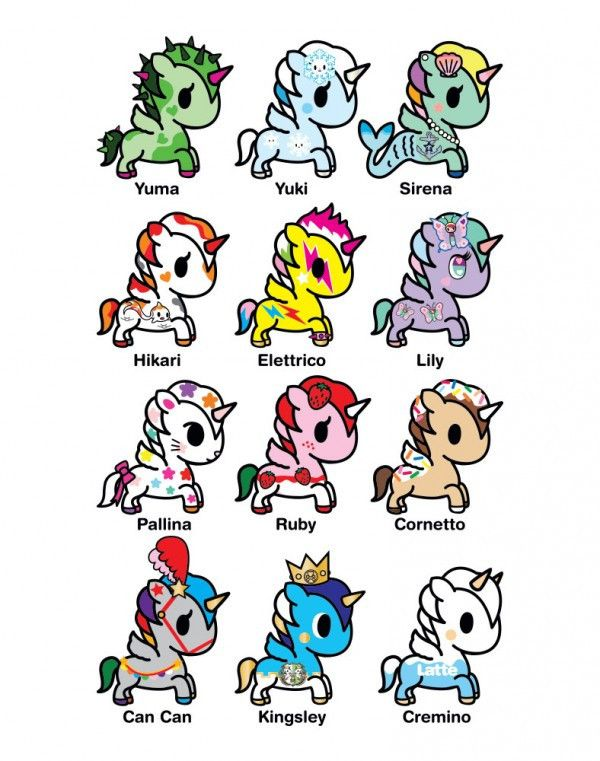 Tokidoki Unicornos Series 4 Vinyl Figures Pinterest