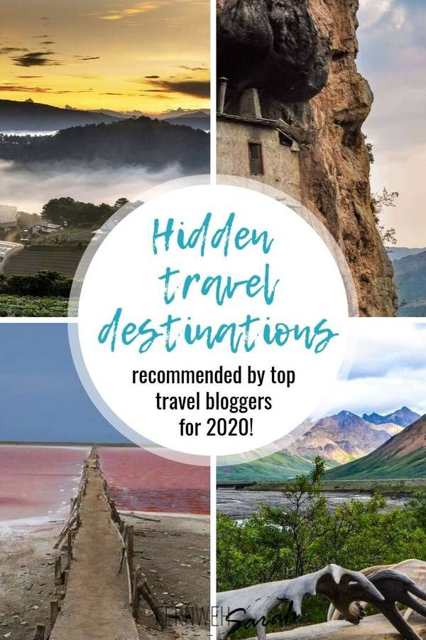 Unusual holiday destinations - Bloggers reveal their secret travel tips for 2020 #vacationdestinations