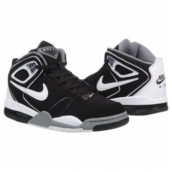 Athletics Nike Men s Air Flight Falcon Black Cool Grey Whit FamousFootwear. com eb759de9b5