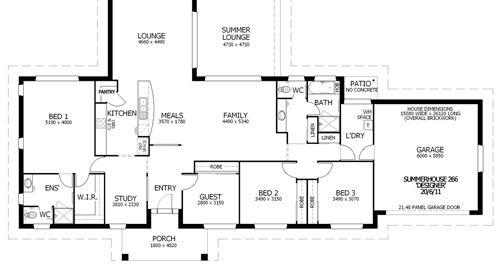 House designs Summerhouse 266 house plans Pinterest House