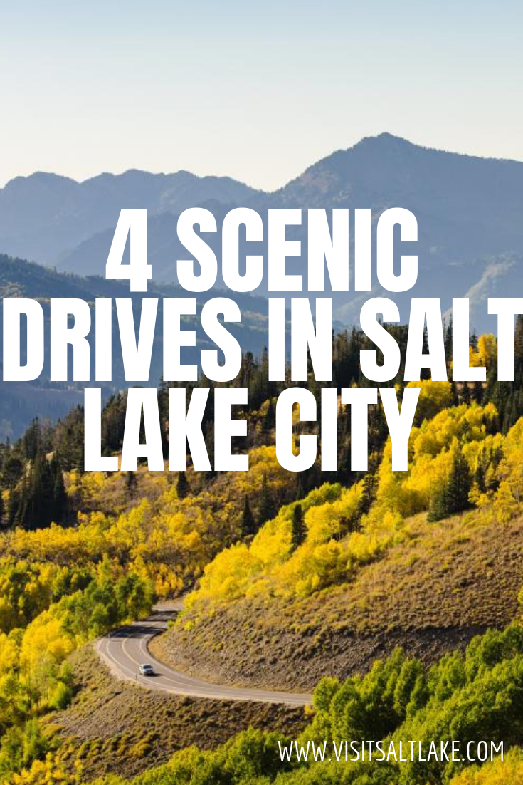 4 Scenic Drives Near Salt Lake That You Must See From Big Cottonwood Canyon Little Cottonw Travel Salt Lake City Salt Lake City Utah Mountains Utah Road Trip
