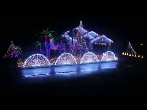 light up florida 2015 animated christmas lights display 1080p - Animated Christmas Light Displays