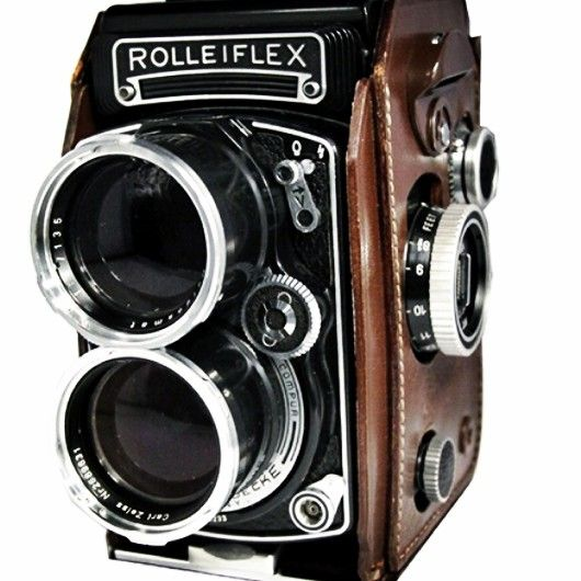 Used Photography Studio Lighting Equipment: Tele Rolleiflex, Made In Germany In 1959 #vintage