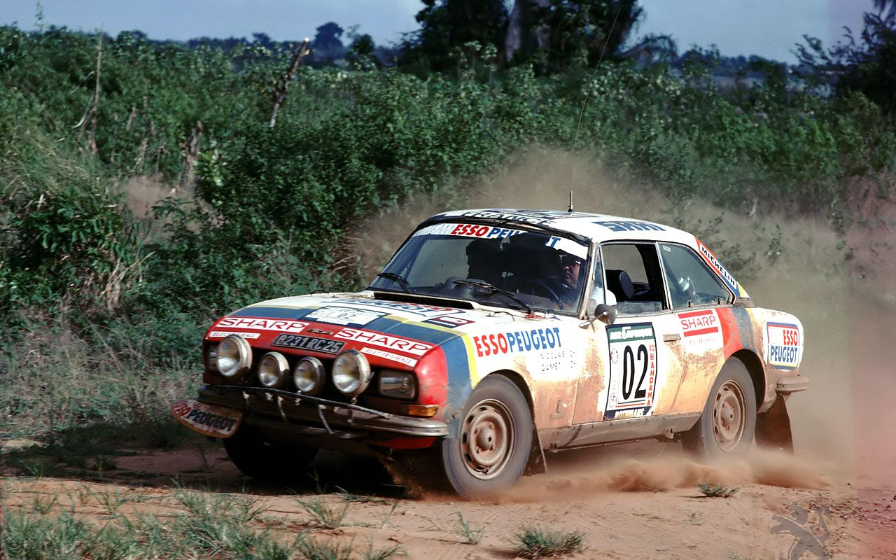 Vintage rally car photos
